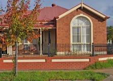 Australiensiskt familjhus. Arkivfoton