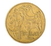 Australier 1 Dollar-Münze Stockbilder