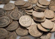 Australier fünf Cent-Münzen Stockbild