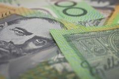 Australier hundert Dollar-Banknoten Lizenzfreies Stockbild