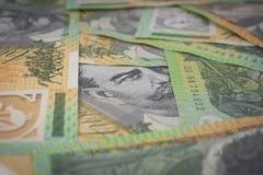Australier hundert Dollar-Banknoten Lizenzfreie Stockbilder