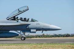 Australier Jet Fighter Royaltyfri Fotografi
