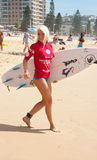 Australier som är öppen av att surfa 2015 Royaltyfri Bild