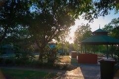 Australiern parkerar runt om den Brisbane staden i Queensland, Australien Australien är en kontinent som in lokaliseras i den söd arkivbilder