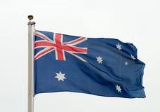 australijczyk flaga Zdjęcie Stock