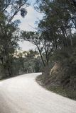 Australijczyk odpieczętowana wiejska droga Zdjęcie Stock