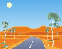 australijczyka krajobraz Obraz Stock