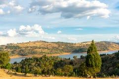 australijczyka krajobrazu wiejskiego Obrazy Royalty Free