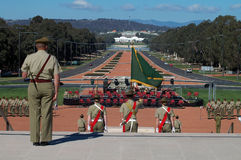 australijscy żołnierze Obraz Stock