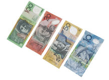 australijscy banknoty Fotografia Stock