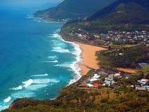 Australijska kipieli plaża Zdjęcie Stock