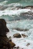 Australijska linia brzegowa przy 'kapelusz głową' obraz stock