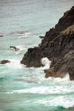 Australijska linia brzegowa przy 'kapelusz głową' fotografia stock