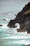 Australijska linia brzegowa przy 'kapelusz głową' zdjęcie stock