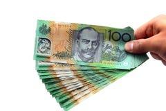 australijska waluta Obraz Stock
