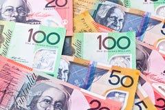 australijska waluta Fotografia Stock