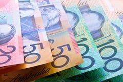 australijska waluta Zdjęcie Royalty Free
