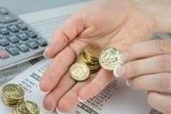 Australijska waluta Obrazy Royalty Free