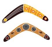 Australijski bumerangu wektor Obrazy Stock