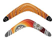 Australijski bumerangu wektor Obrazy Royalty Free