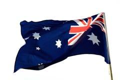 australijski flagę Zdjęcie Royalty Free