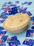australijski mięsny kulebiak Zdjęcia Stock
