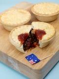 australijski mięsny kulebiak Fotografia Stock