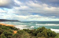 Australijski oceanu krajobraz Obraz Stock