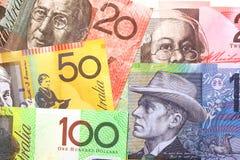 australijski pieniądze Fotografia Royalty Free
