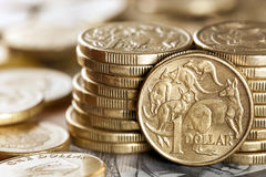 Australijski pieniądze Fotografia Stock