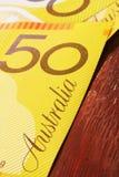 australijski pieniądze Obrazy Royalty Free