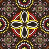australijski tło deseniuje bezszwowego Zdjęcia Royalty Free