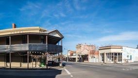 Australijski wiejski miasteczko zdjęcia royalty free