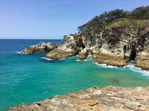 Australijski wyspy Seascape Zdjęcie Royalty Free