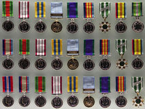 australijskich medale wojennych Obraz Stock