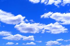 australijskich nieba Fotografia Stock
