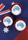 Australijskie babeczki Fotografia Stock