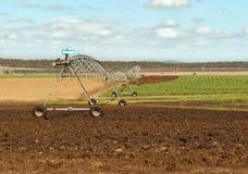 Australijskiego rolnictwa wiejska irygacja Zdjęcia Royalty Free
