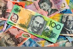 australijskiej waluty Zdjęcia Royalty Free