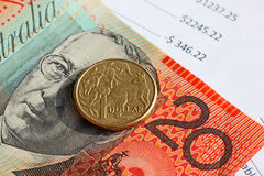 Australisch geld Royalty-vrije Stock Afbeelding