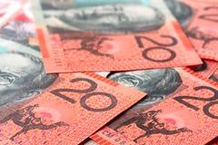 Australisch Geld Royalty-vrije Stock Afbeeldingen