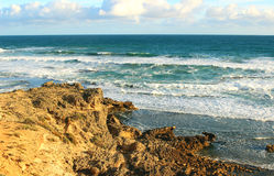 Australisch oceaanlandschap Stock Afbeeldingen