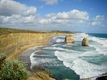 Australisch oceaanlandschap royalty-vrije stock afbeelding