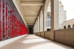 Australisch Oorlogsgedenkteken in Canberra royalty-vrije stock foto