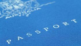 Australisch paspoort Stock Afbeeldingen