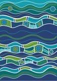 Australisch patroon Royalty-vrije Stock Afbeeldingen