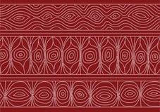 Australisch patroon Stock Afbeelding