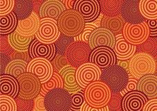 Australisch patroon Stock Afbeeldingen