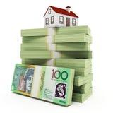 Australisch Real Estate Royalty-vrije Stock Afbeeldingen