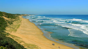Australisch Strand Royalty-vrije Stock Foto's